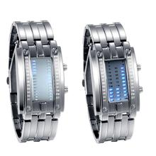 Lancardo 2020 Luxury Binary System LED Display Watches For Men and Woman Wrist