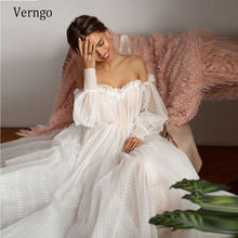 Купить Свадебное платье платье с открытыми плечами на Алиэкспресс