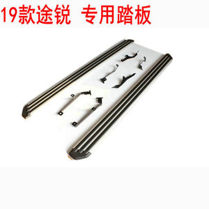 Image 5 - High Quality aluminum Car Running Boards Auto Side Step Bar Pedals for Volkswagen Touareg 2002 2019 Car styling