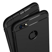 Ультратонкий силиконовый чехол для iphone 7 6 6s 8 X чехол Coque яркие цвета, Мягкий матовый ТПУ чехол для телефона для iphone 7 8 plus iphone XS MAX XR