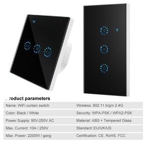 Image 3 - Smart Life przełącznik kurtyny WiFi do rolety z napędem elektrycznym rolety rolety Google Home Amazon Alexa sterowanie głosem APP