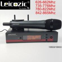 Беспроводной микрофон лесозис ew100 135g3 g3, карманный профессиональный микрофон с функцией разнесенных сигналов, uhf mic
