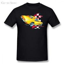 Классическая футболка chevy '68 '72 corvette sting ray