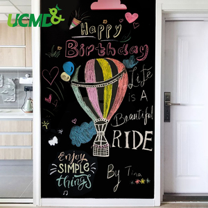 Erasable Vinyl Chalkboard Blackboard Stickers School Drawing Toys Self-Adhesive Painting Writing Drawing Giraffiti Chalk Boards