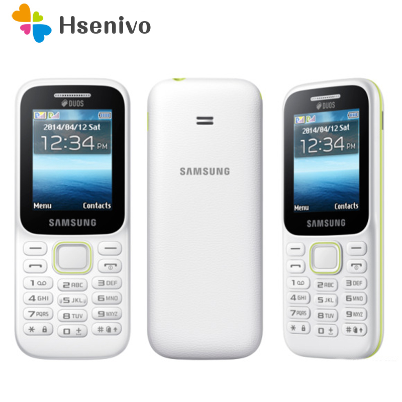 B310E 100% Original Unlocked Samsung Guru Music 2 Cell Phone Dual Sim Card Mobile Phone English/Russian Keyboard Free Shipping