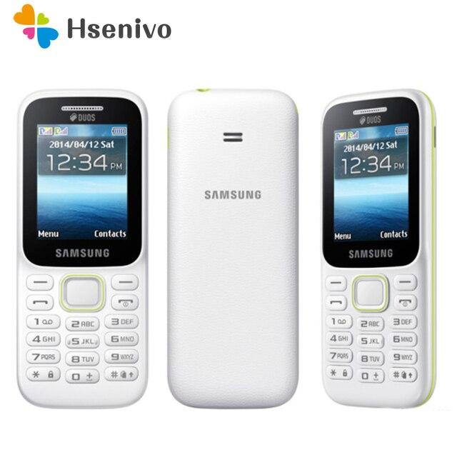 B310E 100% original Unlocked Samsung Guru Music 2 Cell phone Dual sim card mobile phone English/Russian keyboard free shipping