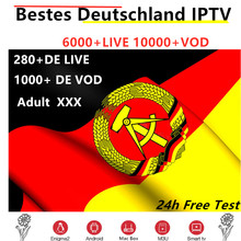 German IPTV subscription 6000+Live French IPTV Germany Spain UK Italian IPTV Europe m3u adult xxx for smart tv box X96 max(China)