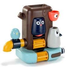 Bath Baby Mushroom Shower Water-Spray Elephant Children Runner Toy Stump Pipeline