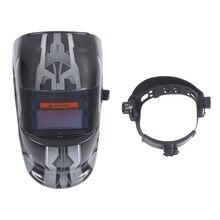 Сварочная маска бленда Солнечный автоматический сварочный шлем(солнечная энергия для подзарядки) Защита лица(робот
