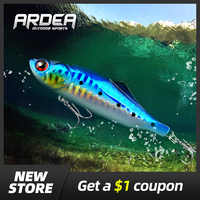 ARDEA VIB Fishing Lure 31g metal vib jig wobbler baits Hard Bait jigging lure Perch Bass Lure ice Winter fishing lures crankbait