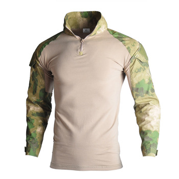 Male Military Uniform Tactical Long Sleeve T Shirt Men Camouflage Army Combat Shirt Airsoft Paintball Clothes Soldiers Shirt Top brand military camouflage t shirt men multicam uniform tactical long sleeve t shirt airsoft paintball clothes army combat shirt