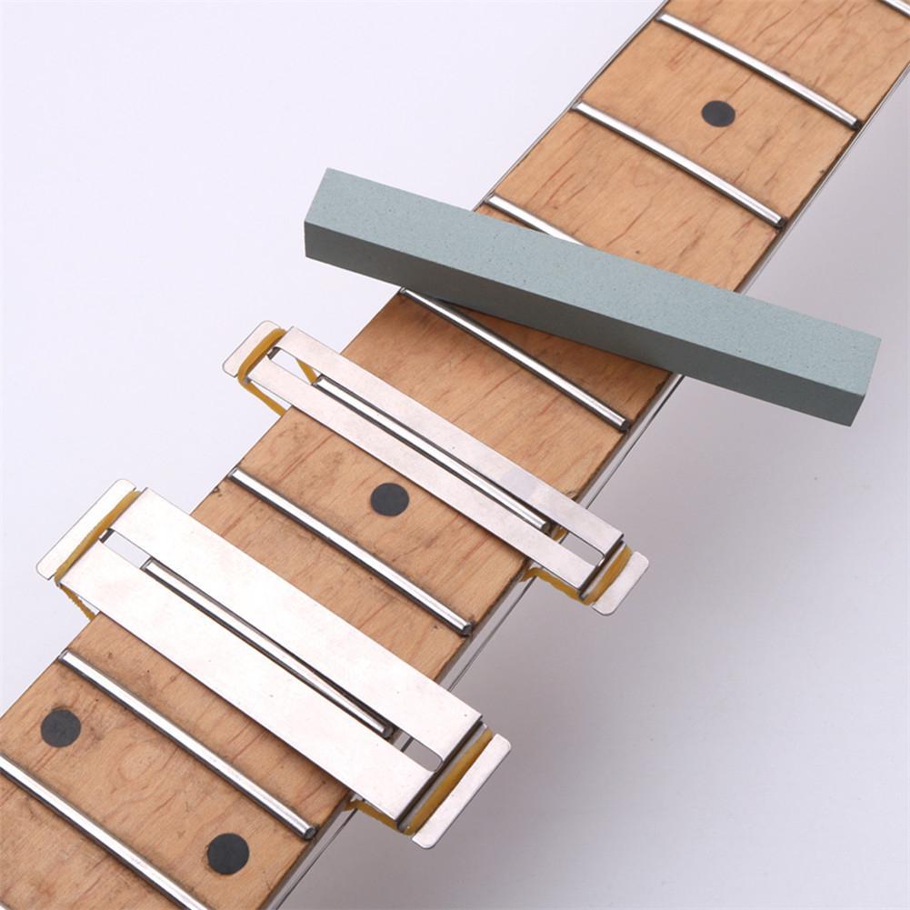 Набор для шлифовки гитарной проволоки, комплект защитных камней для пальцев, радианса, полировки, «сделай сам», Luthier, детали и аксессуары для...
