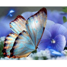 5D DIY Full Round Diamond Painting Butterfly Animal Embroidery Cross Stitch Home Decor Gift