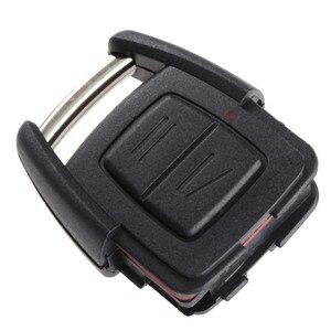 Image 4 - 2 כפתורי מפתח פגז Fob מקרה מרחוק מכונית החלפת מפתח מקרה מכסה Fit עבור ווקסהול אופל אסטרה Vectra Zafira פרונטרה אומגה