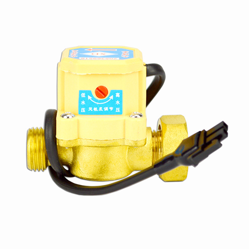 Practical Home Copper Automatic Control Pressure Connector Adjustable Flow Switch Sensor Thread Water Pump Sealing Ring