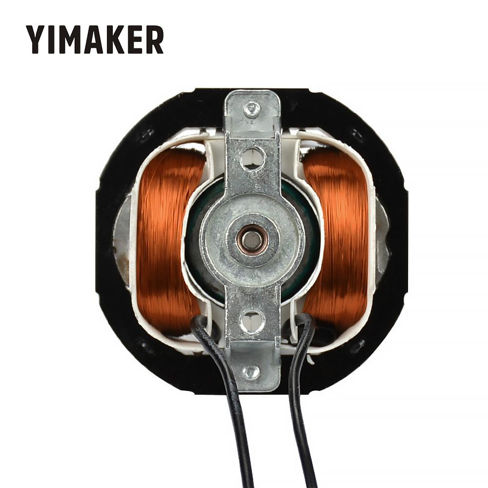 YIMAKER Asynchronous AC Motor YJ5812 2000W 50HZ 230V 2100-2300RPM All Copper Hood Pole Heater Accessories Moteur