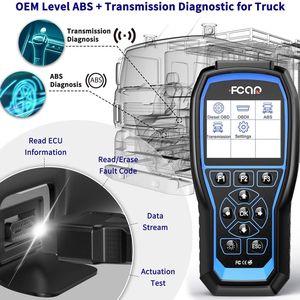 Image 3 - FCAR F507 OBD2 Diagnostic Tools Erase Codes Reader Read ECU Engine ABS Transmission Heavy Duty Truck Free Update Car Scan Tool