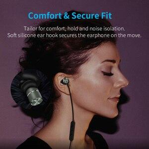 Image 5 - Bluetooth ワイヤレスヘッドフォン磁気スポーツイヤホン sweatproof CVC6 ロスレスステレオイヤフォンノイズマイク