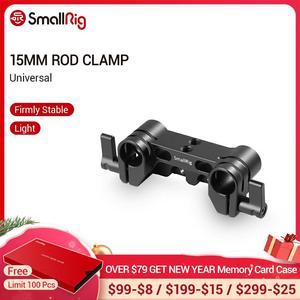 Image 1 - SmallRig クイックリリースのデュアル 15 ミリメートルロッド一眼レフカメラケージ 15 ミリメートル LWS ロッドクランプシステム 1943