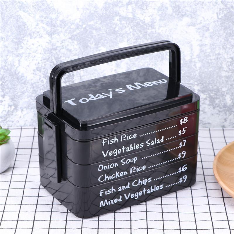 3 couches de Menu d'aujourd'hui boîte à déjeuner micro-ondes Bento boîte Style japonais Bento déjeuner conteneur boîte de rangement cuisine
