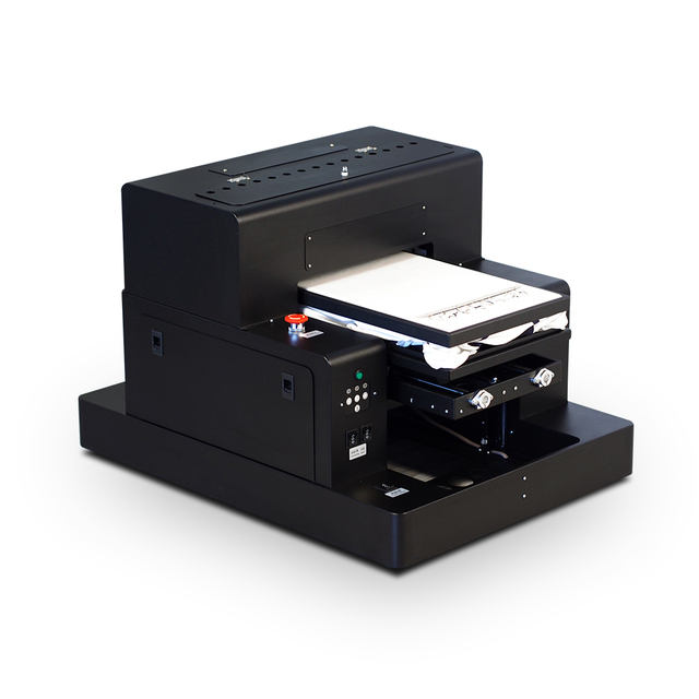 Automatic T shirt printer Flatbed Printer A3 dtg printer garment printing for Clothes Shoes Bags Jeans, with Free T-shirt Holder
