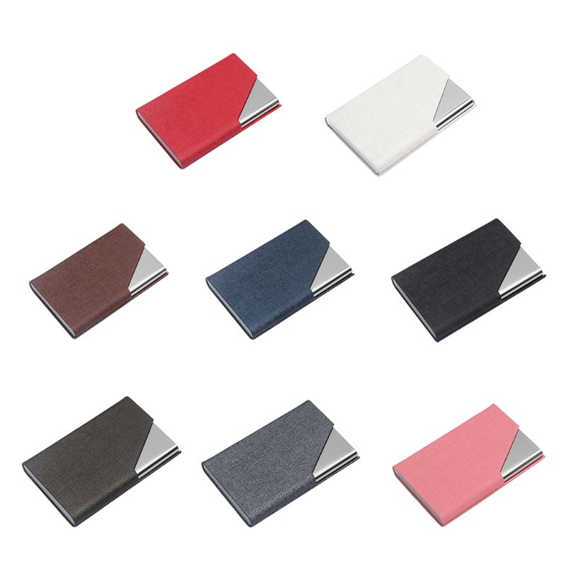 Business Name Card Holder Wallet Credit Card ID Case/Holder For Men & Women - Keep Your Business Cards Clean