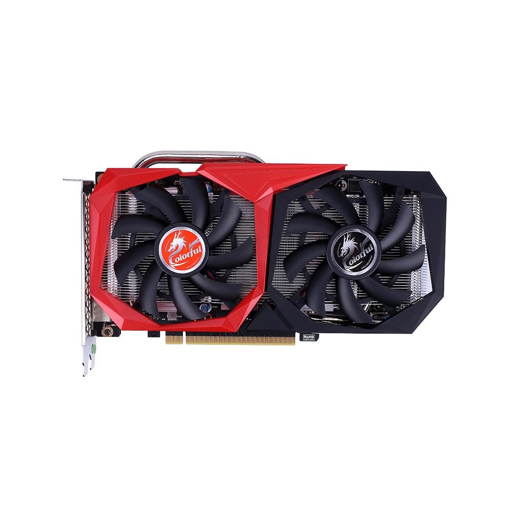 بطاقة رسومات GeForce GTX 1660 SUPER NB 6G ملونة بطاقة فيديو 1785 ميجاهرتز GDDR6 6 جيجابايت B192Bit تبديد الحرارة وحدة معالجة الرسومات للألعاببطاقات الرسومات   -