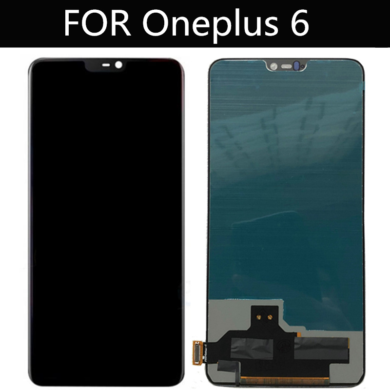 TFT LCD FOR <font><b>Oneplus</b></font> 6 LCD Display+Touch <font><b>Screen</b></font> Digitizer Assembly Replacement Accessories for Oneplus6 <font><b>A6000</b></font> LCD <font><b>screen</b></font> image