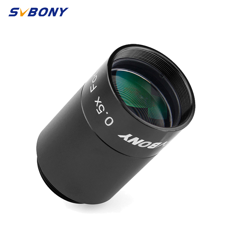 SvBony 0.5X Focal Reducer To Video Camera+Telescope 1.25