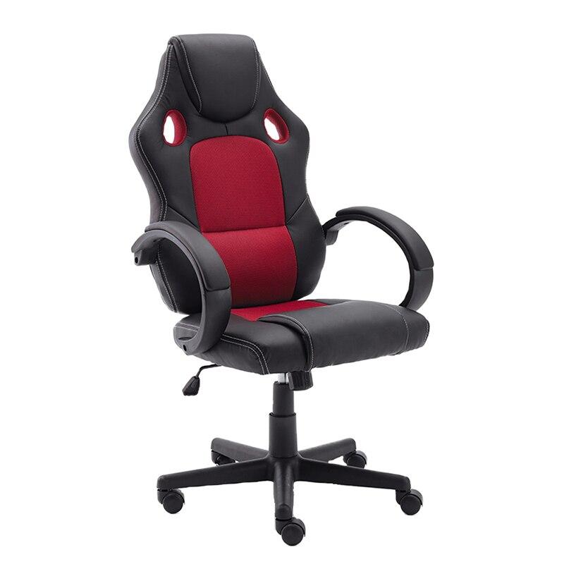 Cadeira do jogo do couro do plutônio da parte traseira alta nova, cadeira reclinável do computador, cadeira do escritório, cadeira giratória do computador do escritório