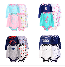 H5d1103b7a1f24b7c840a69ecdc98b37fO Baby Girl Romper Newborn Sleepsuit Flower Baby Rompers 2019 Infant Baby Clothes Long Sleeve Newborn Jumpsuits Baby Boy Pajamas