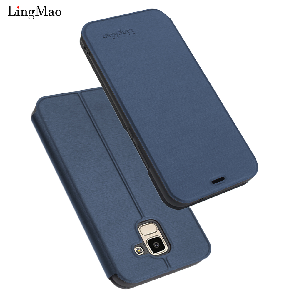 Samsung Galaxy J6 2018 Luxury Flip Leather Case for Samsung Galaxy J6 2018 Wallet Book Cover Samsung Galaxy J6 2018 Phone Cases