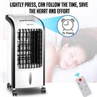 Condicionador de ar portátil ar condicionado ventilador umidificador refrigerador sistema de refrigeração 220 v mini condicionador de ar ventilador de refrigeração umidificador|Ar-condicionado| |  -