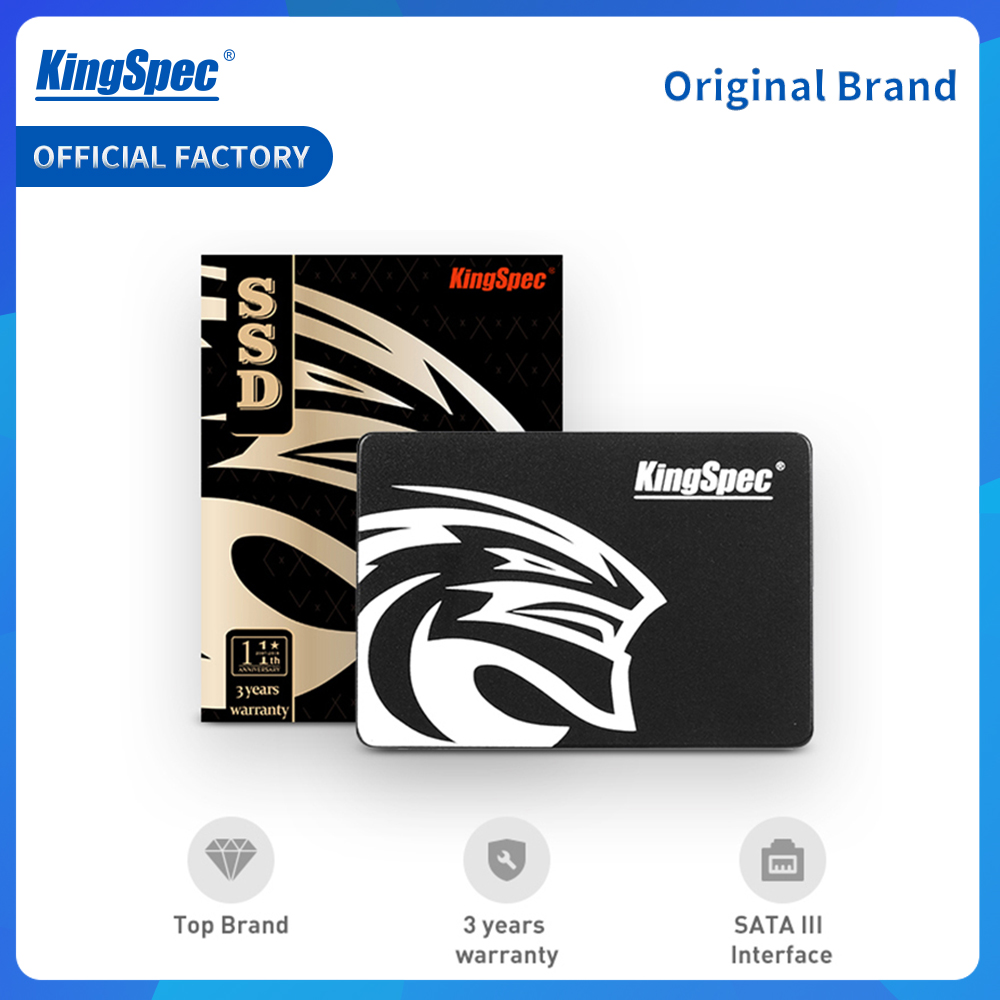 Kingspec Hard-Drive Hdd SSD Laptop Internal Desktop Solid-State 1TB 2TB SATA for 120GB title=