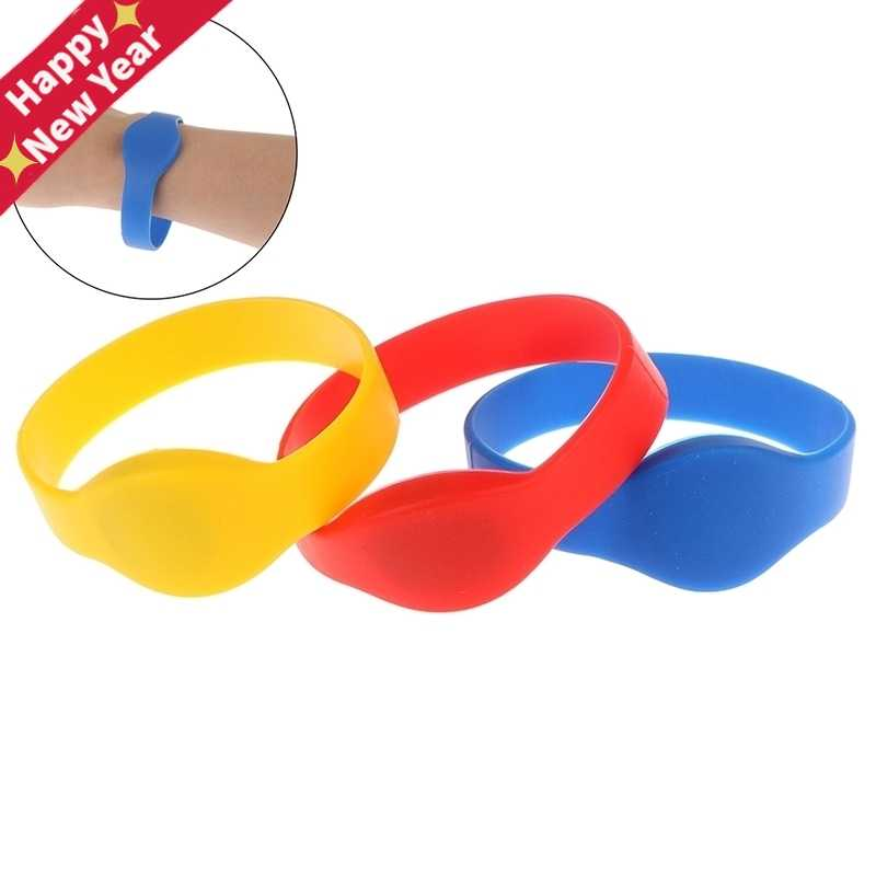 125Khz T5577/EM4305 Rewritable RFID Bracelet Silicone Wristband Watch Copy Clone Blank Card In Access Control Card