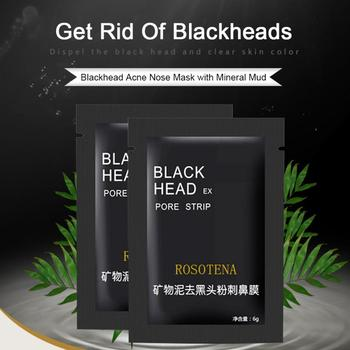 Blackhead Remover Nasal Membrane Mineral Mud Pore Shrinking Acne Blackhead Deep Pore Cleansing Nasal Sticker Nose Black Mask image