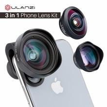 ULANZI Anamorphic LENS Universal เลนส์เลนส์มุมกว้าง CPL เลนส์ Fisheye เลนส์ Telephoto สำหรับ iPhone โทรศัพท์ Android