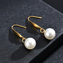 Earrings For Women Fashion Pearl Drop Dangle Earrings Woman's Accesories Jewelry Simple Pendant Jewelry gift for women