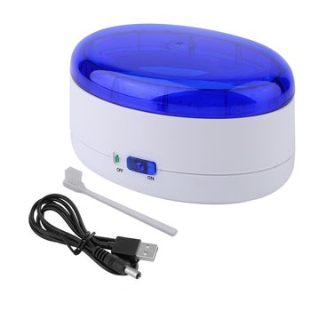 600 ml Ultrasonic Cleaner Jewelry Cleaner for Manicure Cutters Tools Denture Glasses Razor Coins Ultrasound Cleaning Machine 1200bt ultrasonic cleaner fuel injection uv fruits vegetables detoxification machine cleaner grape strawberry sterilizing