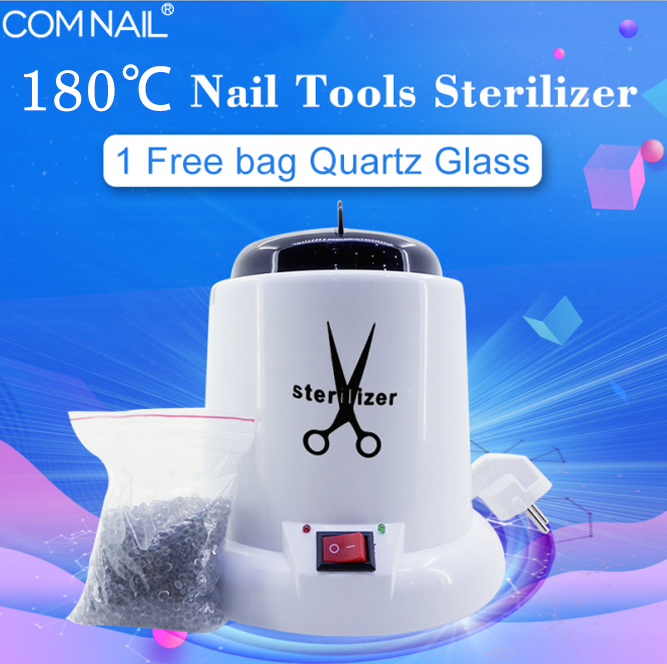 Nail Tools Sterilizer High Temperature Machine Box Glass Ball Disinfecting Manicure Tools  Sterilizer For Manicure