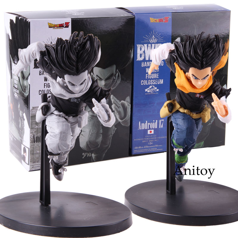 Dragon Ball Z Android 17 BWFC Banpresto World Figure Colosseum PVC Android 17 Dragon Ball Action Figure Collectible Model Toy