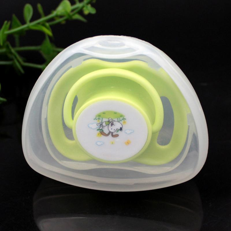 Dustproof Soild Portable Baby Nipple Storage Box Boy Girl Infant Pacifier Cradle Travel Case Holder Soother Pacifier Box 2Pcs