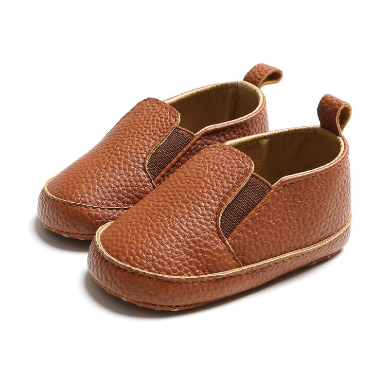 Newborn Baby Boy Girl Shoes Toddler First Walkers Baby Moccasin Shoes PU Leather Prewalkers For Infant Kids Crib Shoes