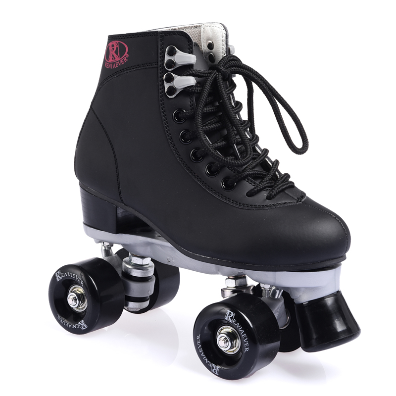 Roller Skate For Girls Classic  Double Row Skating Shoes Pulley Shoes 4 Wheels Shoes Outdoor Indoor Roller Skating