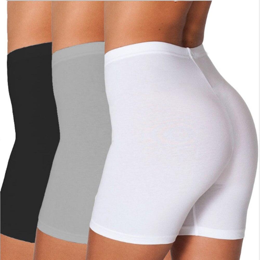 Candy color stretch high waist shorts feminine sports shorts YF262