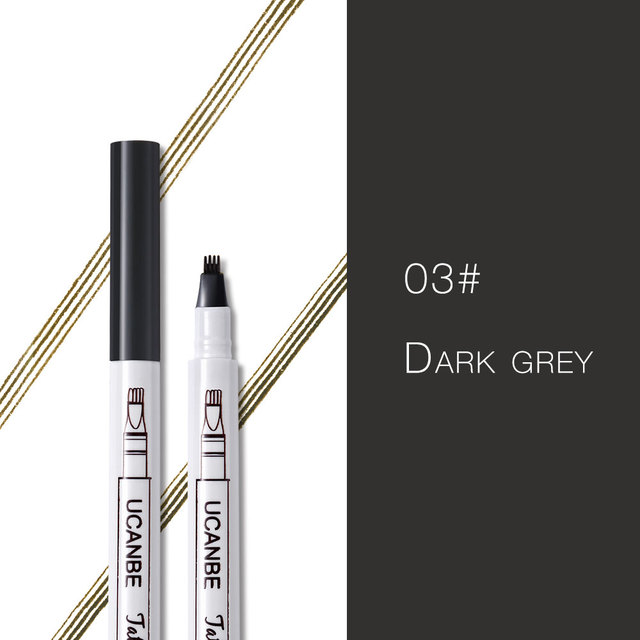 Music Flower Makeup Fine Sketch Liquid Eyebrow Pencil Waterproof Microblading Tattoo Super Durable Smudge-proof Eye Brow Pen 5