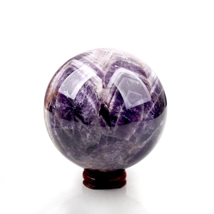 Natural Beautiful Amethyst Ball Dreamy Quartz Ball Home Decoration Color For Healing Reiki Fengshui Energy Stone Mineral(China)