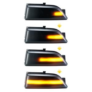 Image 2 - עבור פורד אוורסט 2015 2019 טווח רובר T6 2012 2019 Raptor Wildtrak LED דינמי הפעל אות אור צד מראה מחוון נצנץ