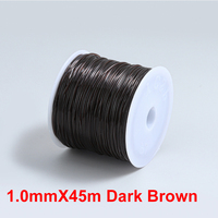 1.0mmX45m Dark Brown