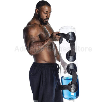 15/20/35KG Water Power Bag Home Fitness Aqua Bags Weightlifting Body Building Gym Sports Crossfit Heavy Duty 3